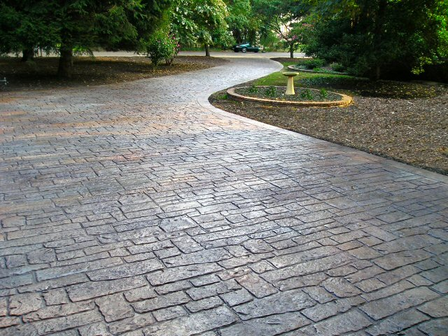 concrete driveway pictures stamped concrete driveway designs stamped