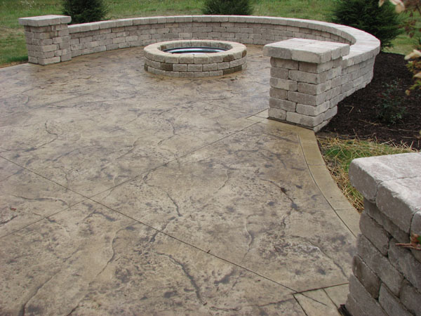 patio pool deck walkwaynh stamped concrete patios ma me cost ideas