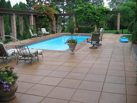 Gentil However, If You Want To Be Creative With Your House Enhancements, You Can  Make A Synthetic Appearance With Stamped Concrete.