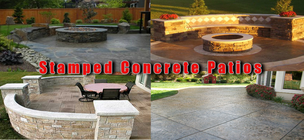 stamped concrete patio ideas - Stamped Concrete Design Ideas